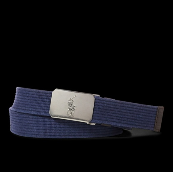 56400c39b4 Polo Ralph Lauren Plaque Buckle Belt NWT